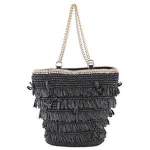 bolso rafia negro - Catálogo para comprar online