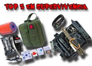 Catálogo de kit de supervivencia completo para comprar Online - Los 10 mejores