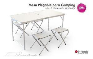 Catálogo de mesa y sillas camping plegable para comprar On-Line - Los 10 mejores