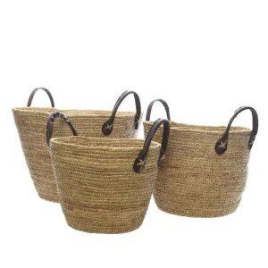 decorar cestas de mimbre para playa - El TOP 10