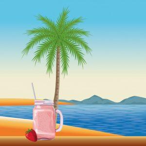 El TOP 10 dibujo playa