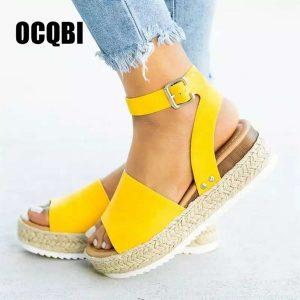 El TOP 10 sandalia amarillas