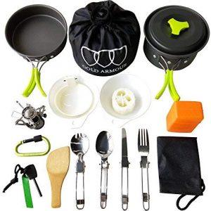 La mejor lista de kit cocina camping para comprar - El TOP 10