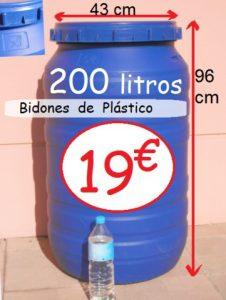 La mejor recopilación de bidones de plastico de 300 litros para comprar On-Line - El TOP 10