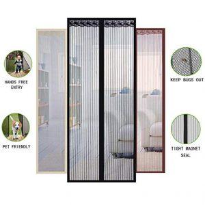 La mejor sección de cortina mosquitera magnetica para comprar Online