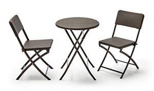 La mejor selección de mesas plegables con sillas para comprar Online - El TOP 10