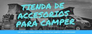Lista de accesorios furgonetas camping para comprar on-line - El TOP 10