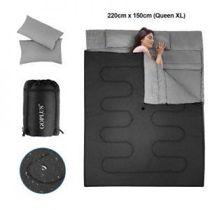 Lista de saco de dormir doble para comprar - Los 10 mejores