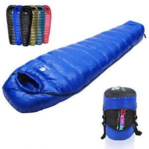 Lista de sacos de dormir plumas para comprar on-line - El TOP 10