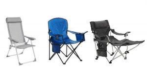 Lista de sillas de camping plegables para comprar en Internet