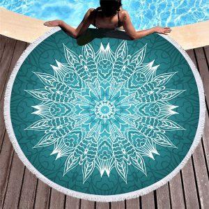 Lista de toalla redonda mandala para comprar on-line - El TOP 10