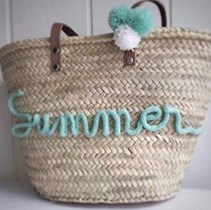 Los 10 más vendidos cestos de playa personalizados