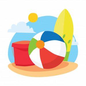 Los 10 mejores pelota playa dibujo