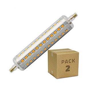 Productos disponibles de bombillas led r7s 118mm para comprar On-Line - Los 10 mejores
