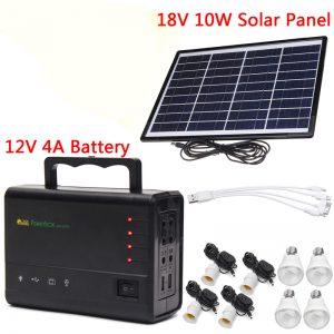 Selección de kit solar portatil de camping para comprar On-Line - Los 10 mejores