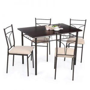 Selección de mesas plateadas para comprar - Los 10 mejores