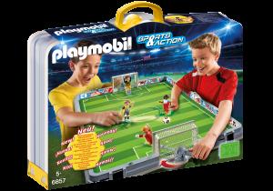 Selección de set de fútbol maletín playmobil para comprar