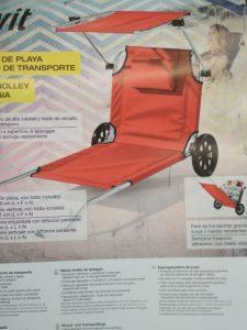silla de playa con ruedas lidl - Los 10 más vendidos