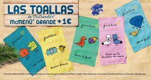 toalla macdonals - Lista para comprar Online