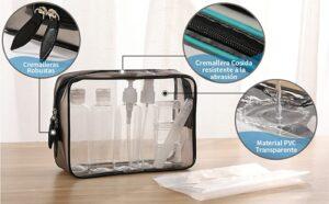 La mejor lista de neceser plastico transparente para comprar on-line
