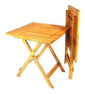 La mejor recopilación de mesa de madera plegable para comprar Online